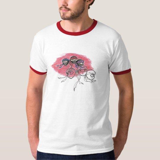 Double logo Ringer T-Shirt