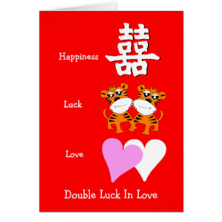 Double Luck In Love 2in1 Card