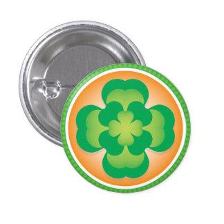 Double Lucky Shamrock Pin