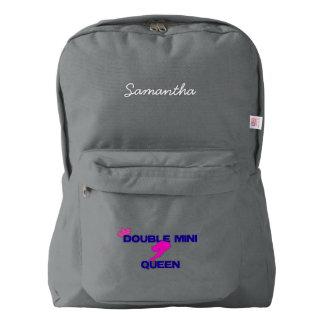 Double Mini Queen Backpack