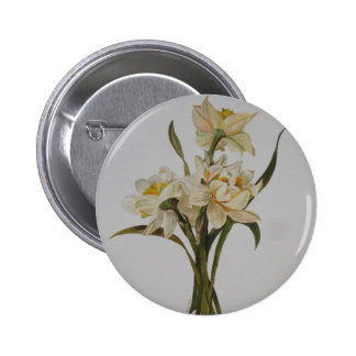 Double Narcissi Button