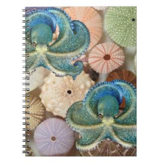 Double Octopus Spiral Photo Album Notebook
