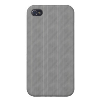 Double Pinstriped (Med. Gray) iPhone 4/4S Case