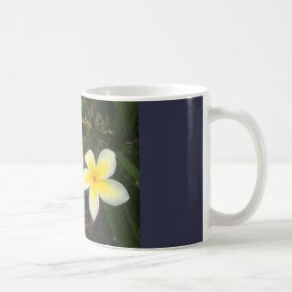 Double Plumeria Coffee Mug