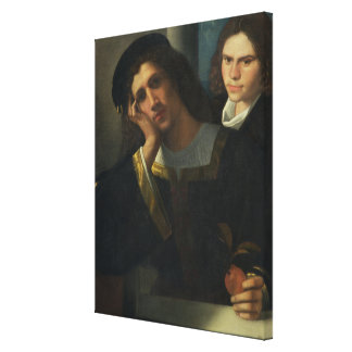 Double Portrait, c.1502 Canvas Print