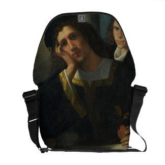 Double Portrait, c.1502 Messenger Bag