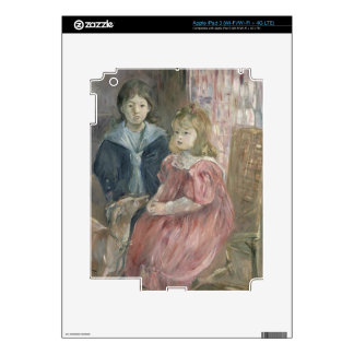 Double portrait of Charley and Jeannie Thomas, chi Decals For iPad 3