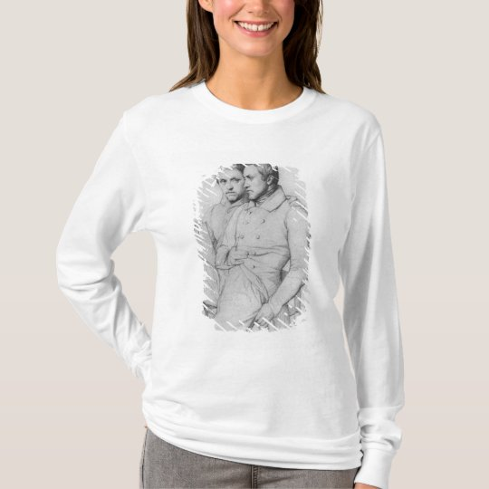 Double portrait of Hippolyte and Paul Flandrin T-Shirt