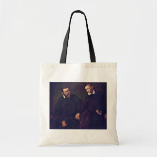 Double Portrait Of Two Men By Tintoretto Jacopo (B Tote Bags