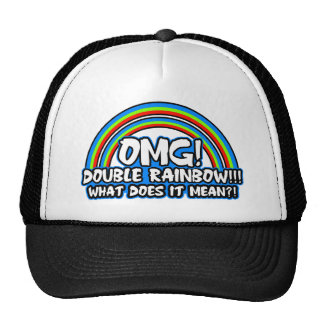 Double Rainbow $17.95 (11 colors) Hat