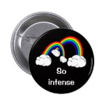Double rainbow 2 inch round button