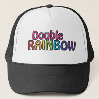 Double Rainbow All The Way Across The Sky Trucker Hat