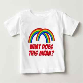 Double Rainbow Baby T-Shirt