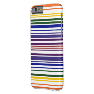Double Rainbow Barcode Barely There iPhone 6 Case