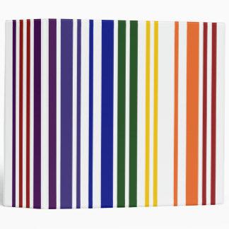 Double Rainbow Barcode Binder
