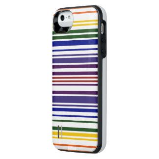 Double Rainbow Barcode Case