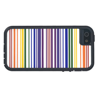 Double Rainbow Barcode Case For iPhone SE/5/5s