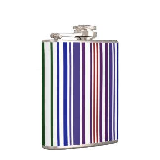 Double Rainbow Barcode Flask