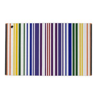 Double Rainbow Barcode iPad Case