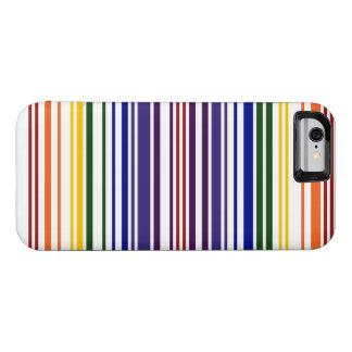 Double Rainbow Barcode iPhone 6 Case