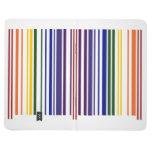 Double Rainbow Barcode Journal