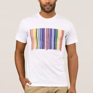 Double Rainbow Barcode T-Shirt