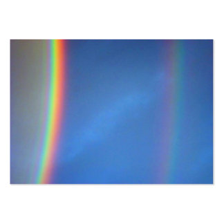 Double Rainbow Large Business Cards (Pack Of 100)