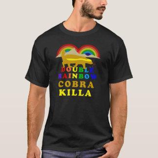 double rainbow honey badger cobra killa T-Shirt