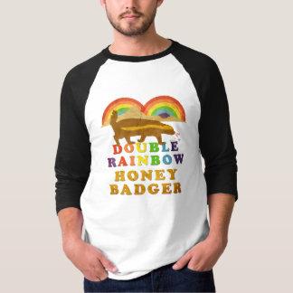 double rainbow honey badger (Vintage) T-Shirt