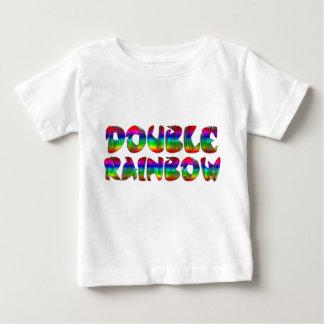 Double Rainbow infant T-shirt