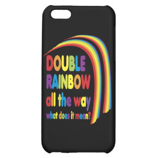 Double Rainbow Cover For iPhone 5C
