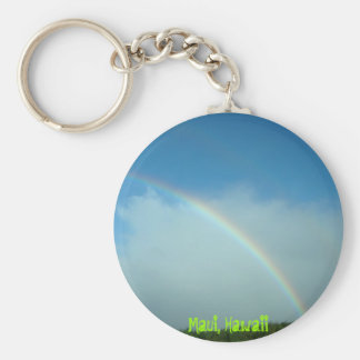 Double Rainbow Keychain