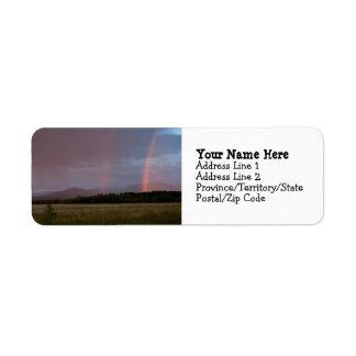 Double Rainbow Label
