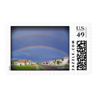 Double Rainbow Layton, Utah Postage