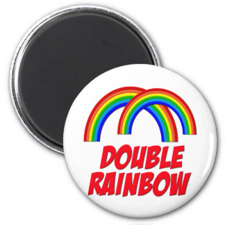 Double Rainbow Magnet