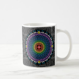 Double Rainbow Mandala Mug