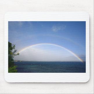 double rainbow, Maui, Hawaii Mouse Pad