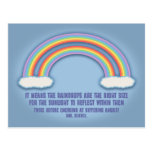 Double Rainbow Meaning Postcard