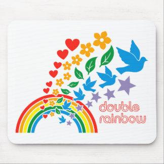 Double Rainbow Mousepad