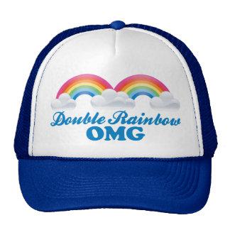 Double Rainbow OMG Hat