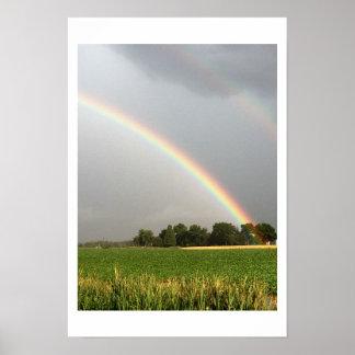 Double Rainbow Photo Poster