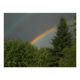 Double Rainbow! Photographic Print