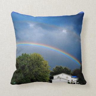 DOUBLE RAINBOW pillow