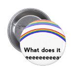 Double Rainbow Pinback Button