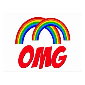 Double Rainbow Post Cards