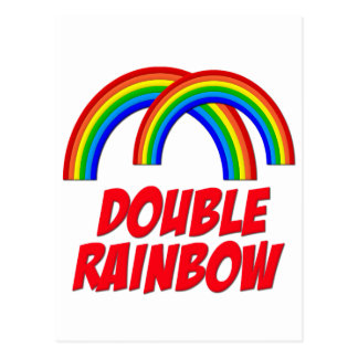 Double Rainbow Postcards