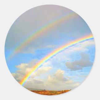 Double Rainbow Promis Stickers