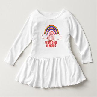 Double Rainbow Santa Claus Dress