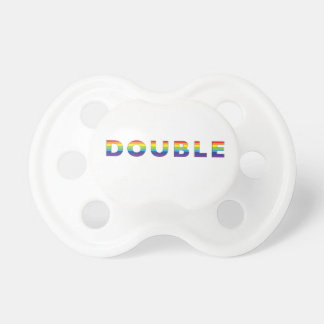 Double Rainbow Soother Pacifier