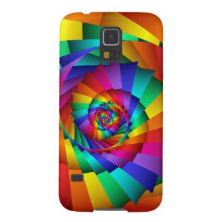 Double Rainbow Spiral Samsung Galaxy S5 Case